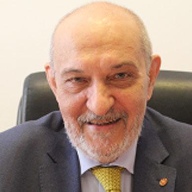 Prof. Antonello Folco Biagini, Magnifico Rettore dell'Universtità La Sapienza, Roma